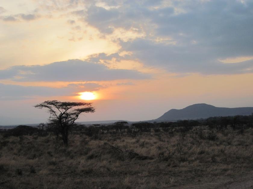 Visitors in Kenya