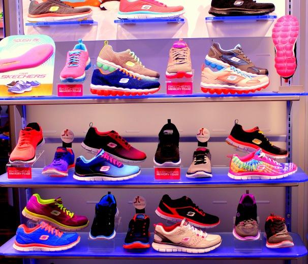 Mall Shoe Display