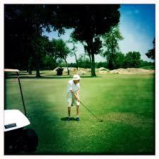 old golfer